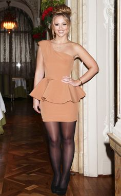 Girls Aloud, True Love, Peplum Dress, Heels, How To Wear, Beautiful, Dresses, Style, Fashion