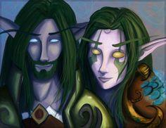 Dalomere and Yvira - Colored by Felixani.deviantart.com on @DeviantArt