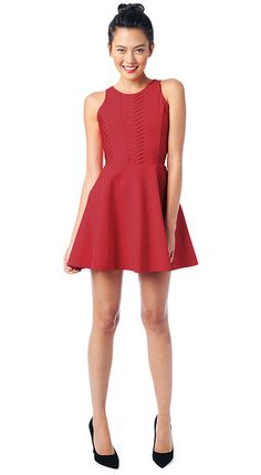 Parker New York Official Store, fay dress, poinsettia, Womens : Dresses, PA101482PT
