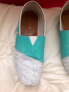 Song lyrics painted toms by ItsaCraftyWorld on Etsy, $55.00