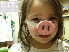 P is for Pignoses - Tutus and Tea Parties: DIY Pig Nose from Toilet Paper Tube Toilet Tube, Toilet Roll Craft, Toilet Paper, Art For Kids, Crafts For Kids, Arts And Crafts, Diy Crafts, Pig Costumes, Halloween Costumes