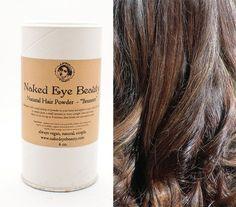 Brunette Dry Shampoo Hair Powder Vegan Organic 4 oz.