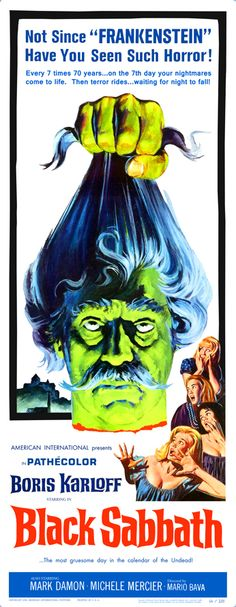 this movie BLACK SABBATH (1963), Inspired Ozzy chose the name of his band.
