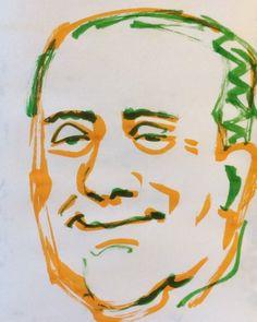 いいね!18件、コメント1件 ― @1mindrawのInstagramアカウント: 「#1mindraw #一分描画 #silvioberlusconi #シルヴィオベルルスコーニ #politician #政治家 #19360929 #birthday #誕生日…」