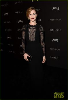 Evan Rachel Wood & Dakota Johnson Glam It Up at LACMA Art + Film Gala