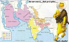 Guru Nanak journey