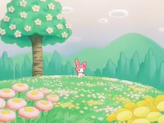 Indie Kids, Sanrio Characters, My Melody, Pink Aesthetic, Aesthetic Pictures, Wall Collage, Wall Art, Picture Wall, Cute Art
