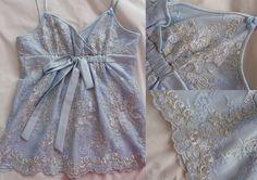 Blouse with lace, Bluzka z koronki Pracownia krawiecka Beata Andres