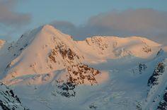 Unnamed Alaska peak in evening light