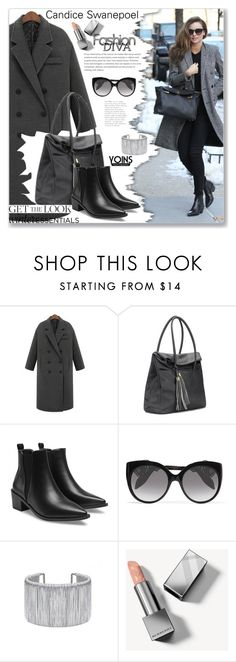 """""""Street Style by Yoins"""" by jecakns ❤ liked on Polyvore featuring Alexander McQueen and Burberry"""