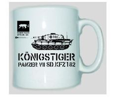 Tasse Königstiger / mehr Infos auf: www.Guntia-Militaria-Shop.de