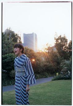 ミントデザインズ(mintdesigns)が、ブランド初となる浴衣を発表。 #Kimono
