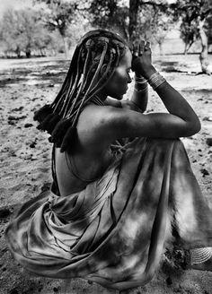 Donna di una tribù Himba