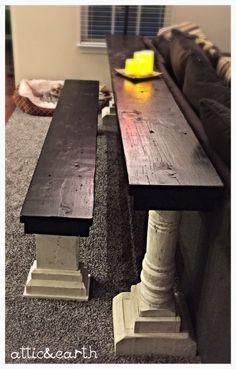 Sofa Table | attic and earth