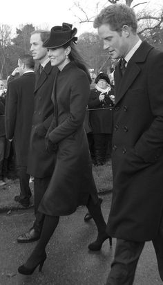 William Kate And Harry Love The Black And White Colours In This Picture Prince