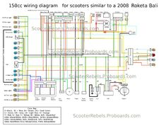 8 best scooter wiring diagram images chinese scooters Motorcycle Scooter Wiring Diagram
