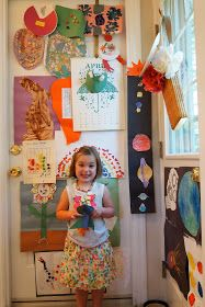the little black door: where do i put all of this - great idea for the copious amount of work/drawings the kiddos bring home!
