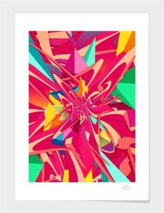 """""""Explosion #1"""", Numbered Art Print by danny ivan - From $25.00 - Curioos"""