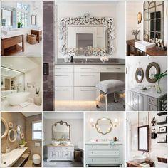 Amazing Interior Design 38 Wonderful Bathroom Mirror Designs