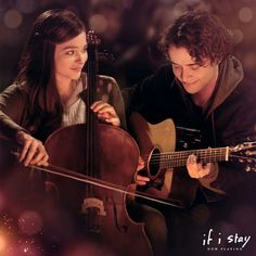 Make today the greatest and see If I Stay! If I Stay Movie, 2 Movie, Examen Oral, Warner Bros Movies, Movie Sites, All The Feels, Movie Couples, Chloe Grace Moretz, Cello