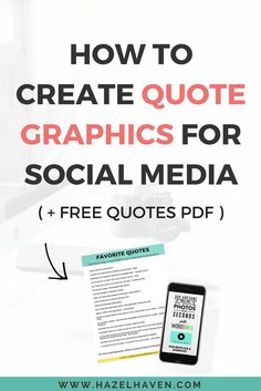 Sometimes social media is more than just a pretty photo, when you USE words   on your graphics, you are able to connect with your audience, ask questions   and provide inspiration.      I schedule my quote graphics on other platforms to grow my reach and   recycle them weekly. When I started sharing