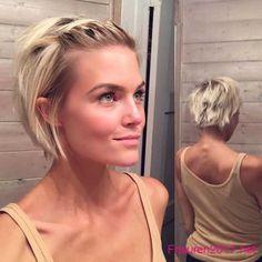 blondine bob frisuren fur kurze haare