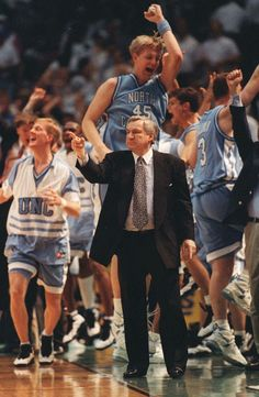 Dean Smith, all-time great coach and Kansas boy.