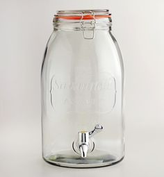 An oversized mason jar for feeding drinks to the crowd! $20