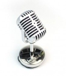 Retro Style Microphone - ask Johnny if he would like this as a groomsmen cake
