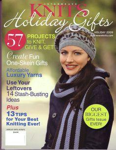 Журналы (Вязание) Interweave Knits Holiday Gift2009