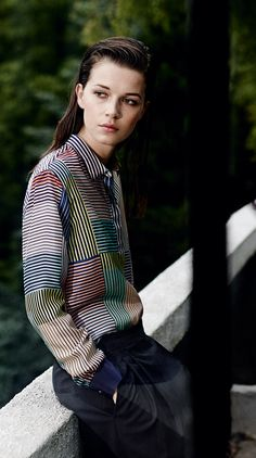 Клуб фанатов рубашек: естественные цвета  Paul Smith Black Spring/Summer '15 - Paul Smith Collections excellent shirt