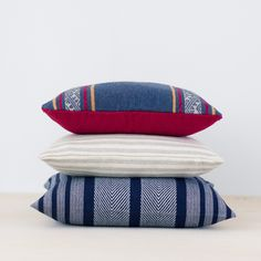 Nevados Pillow, handwoven in Peru | The Citizenry