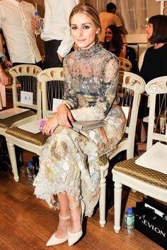 Olivia Palermo at London Fashion Week Spring 2015