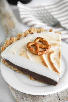 Sprinkle Bakes: Sweet and Salty Guinness Chocolate Pie with Beer Marshmallow Meringue