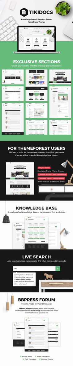 Buy Tikidocs - Knowledgebase & Support Forum WordPress Theme + RTL by modeltheme on ThemeForest. A knowledgebase WordPress theme is like a library of information about any service, product or topic that is designe. Wordpress Premium, Page Layout, Base, Wordpress Theme, Typography, Templates, Consciousness, Stenciling, Letterpress