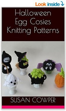 Get the Halloween Egg Cosies Patterns on your @AmazonKindle and get knitting for #Halloween! http://www.amazon.com/dp/B013FUDROC