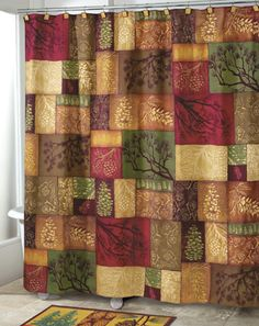 Northwoods Adirondack Pine Shower Curtain