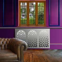Brand new range of arabic and moroccan style mirror radiator covers and window shutters Mirror Vinyl, Art Deco Mirror, Mirror Radiator Cover, Cover Style, Window Shutters, Bespoke Design, Moroccan Style, Geometric Designs, Beautiful Interiors