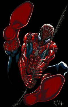 Spiderman living room poster medium