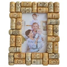 Giftgarden Wine Corks Unique 4 by 6 Inch Picture Frame for Home Photo 4x6 *** More info could be found at the image url.