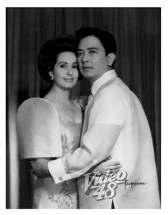 Gloria romero and Luis gonzales Location: Manila Philippines Wayback 1958 Miss Philippines, Philippines Fashion, Philippines Culture, Manila Philippines, Sampaguita, Filipina Actress, Filipiniana, Classic Beauty, Filipino