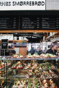 The Ultimate Guide to the Best of Torvehallerne in Copenhagen - open Sandwiches in Copenhagen - Hallernes Smørrebrød