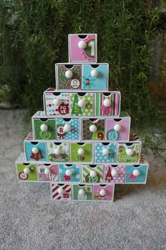 Fun Advent Calendar!  #ourmomstouch