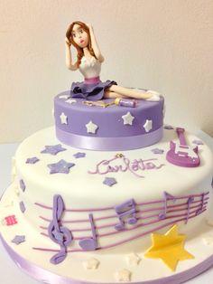 Violetta' cake
