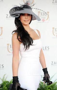 Silly celebrities, classy hats, Part 1: Kim Kardashian