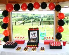 """Photo 6 of 9: Wrestling / Birthday """"WWE Wrestling Party"""" 