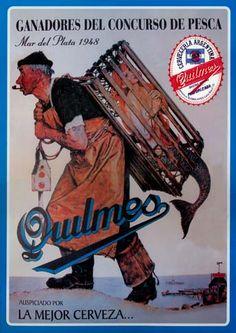13911 - CERVEJA - QUILMES 1948 - Ganadores Del Concurso de Pesca