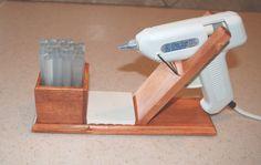 glue gun stand. I NEED THIS!!!