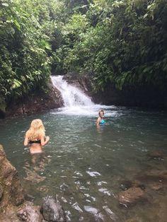 Best Place to See in Jaco, Costa Rica! #travel #travelbogger #costarica #jaco #beach #sunset #bikini #waterfall