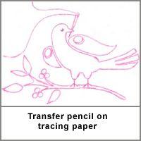 Transferring designs to fabric